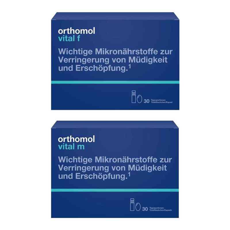 Orthomol Vital m&f Trinkfläschchen Paket  bei juvalis.de bestellen