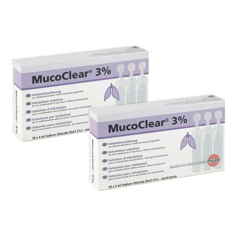 Mucoclear 3% Nacl Inhalationslösung  bei juvalis.de bestellen