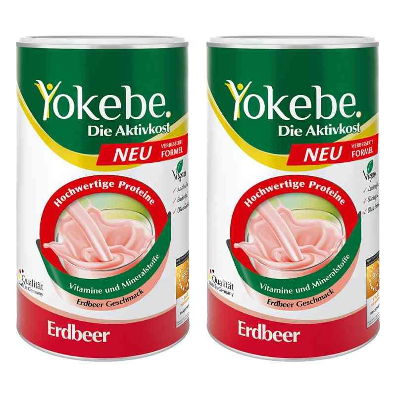 Yokebe Erdbeer Pulver  bei juvalis.de bestellen