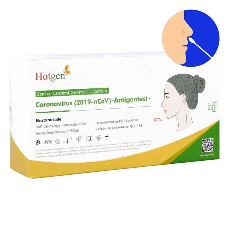 Laientest Hotgen Novel Coronavirus 2019-nCov - Nasentest  bei juvalis.de bestellen