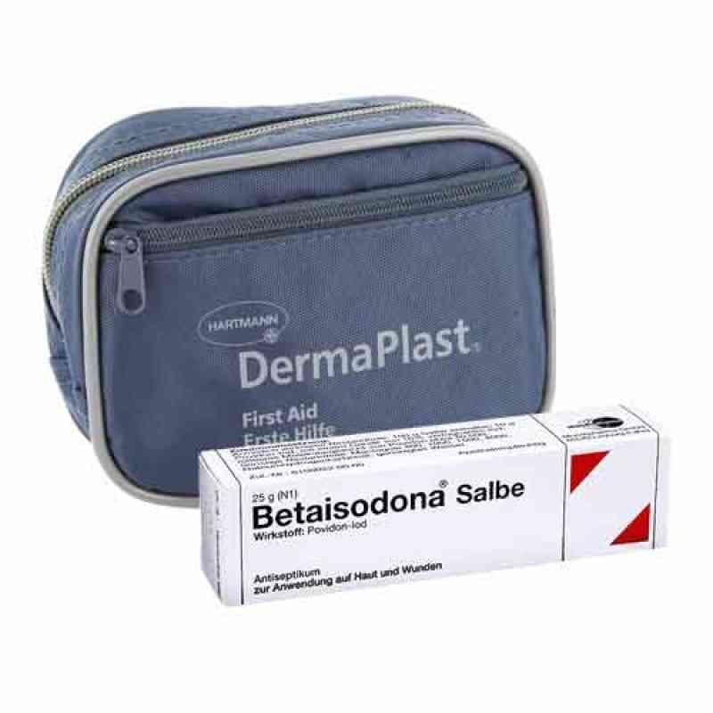 Dermaplast Erste Hilfe Set klein + Betaisodona Salbe  bei juvalis.de bestellen