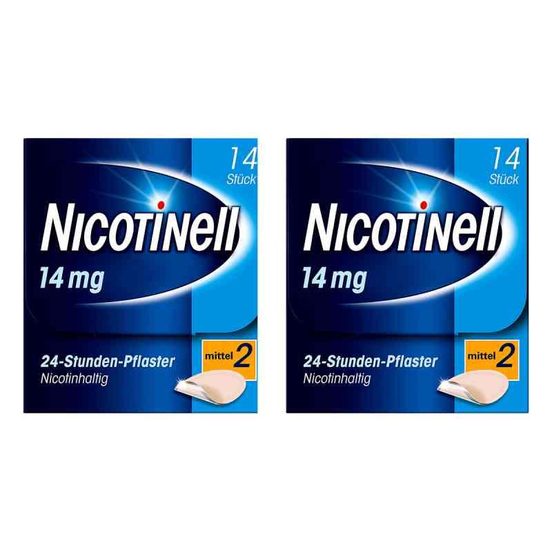Nicotinell Paket 14 mg (ehemals 35 mg) 24-Stunden-Pflaster  bei juvalis.de bestellen