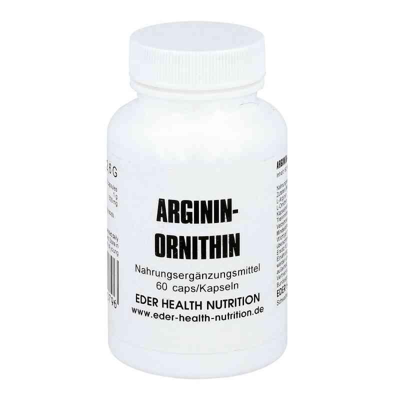 Arginin/ornithin Kapseln  bei juvalis.de bestellen