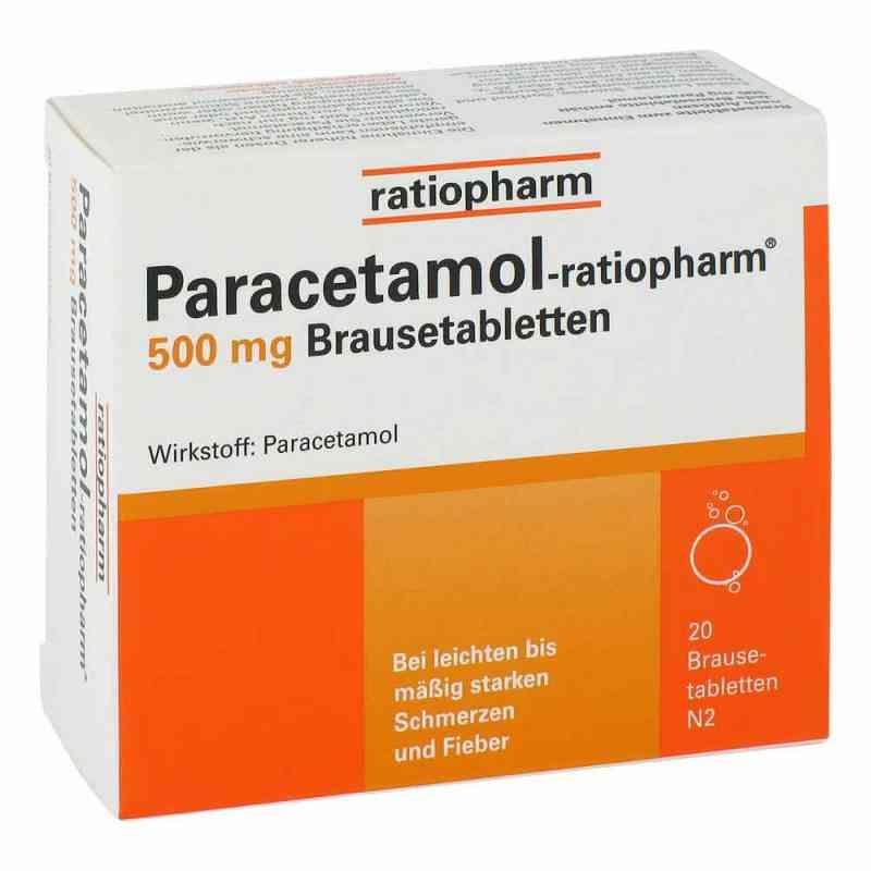 Paracetamol ratiopharm 500mg Brausetabletten  bei juvalis.de bestellen