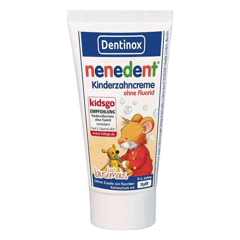 Nenedent Kinderzahncreme ohne Fluorid Standtube  bei juvalis.de bestellen