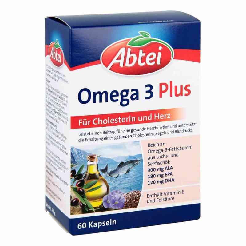 Abtei Omega 3 6 9 Lachsöl+leinöl+oliv.öl Kapseln  bei juvalis.de bestellen