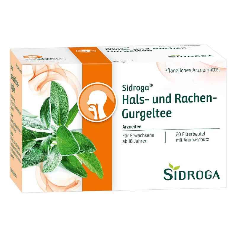 Sidroga Hals- und Rachen-gurgeltee Filterbeutel  bei juvalis.de bestellen