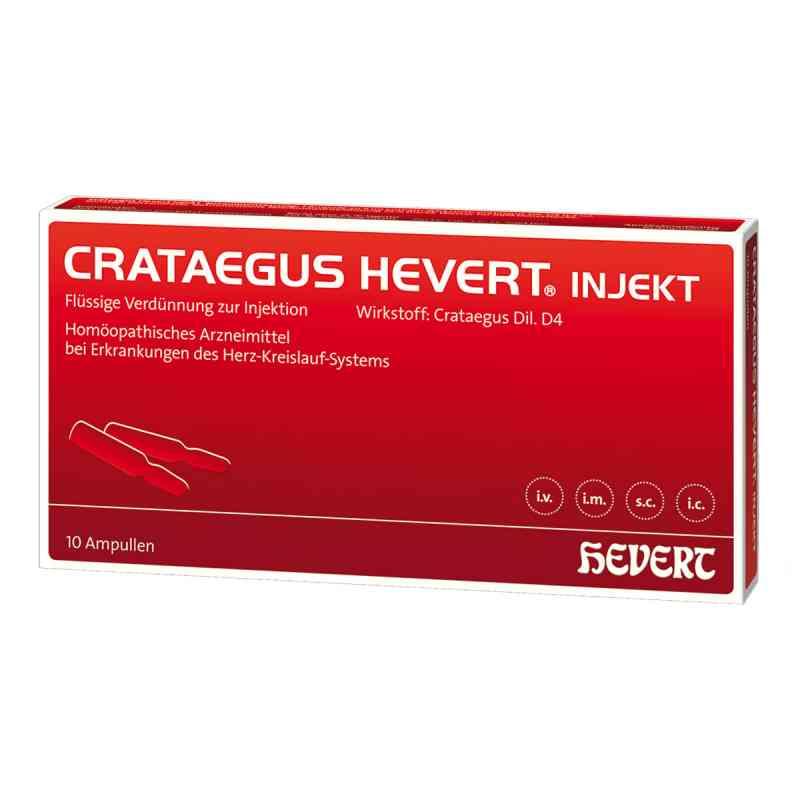 Crataegus Hevert injekt Ampullen  bei juvalis.de bestellen