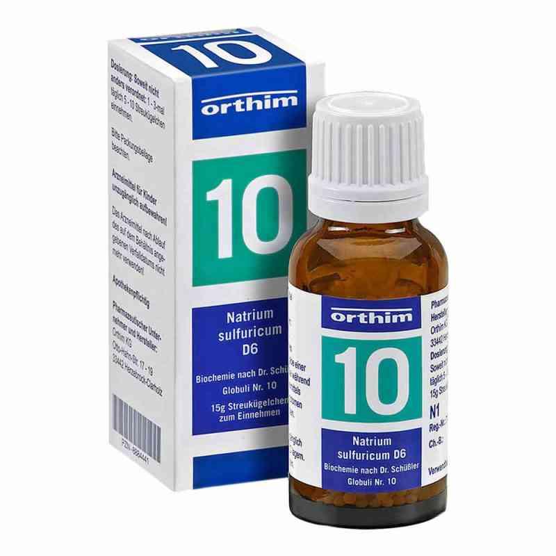 Biochemie Globuli 10 Natrium sulfuricum D6  bei juvalis.de bestellen