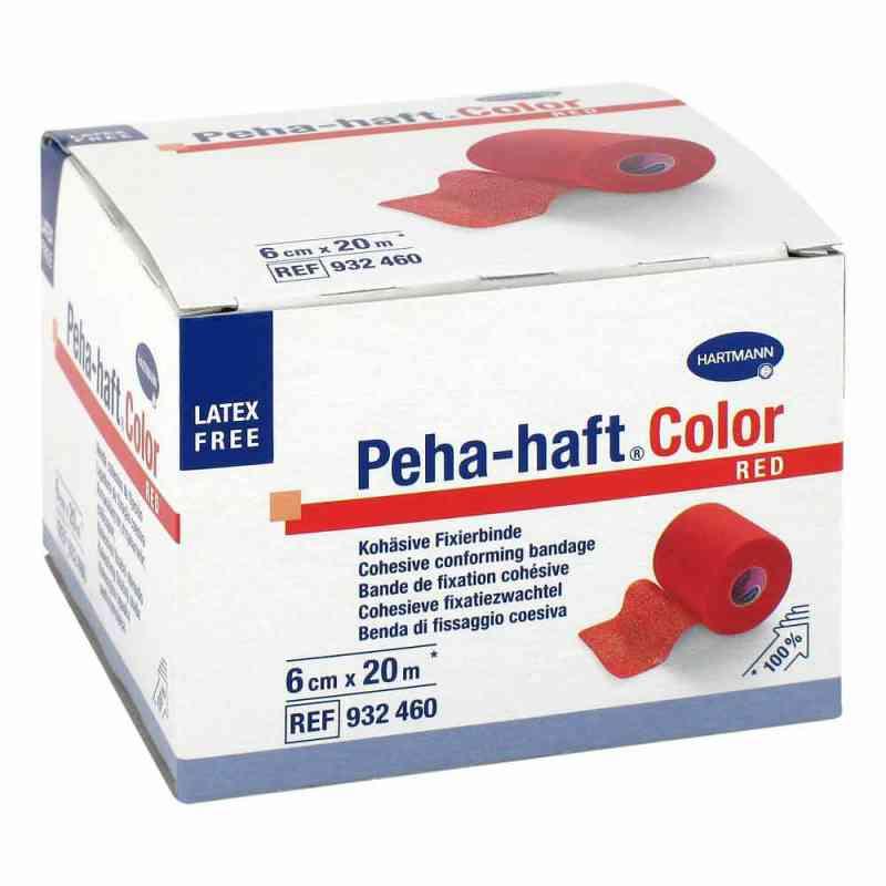 Peha Haft Color Fixierbinde latexf.6 cmx20 m rot  bei juvalis.de bestellen