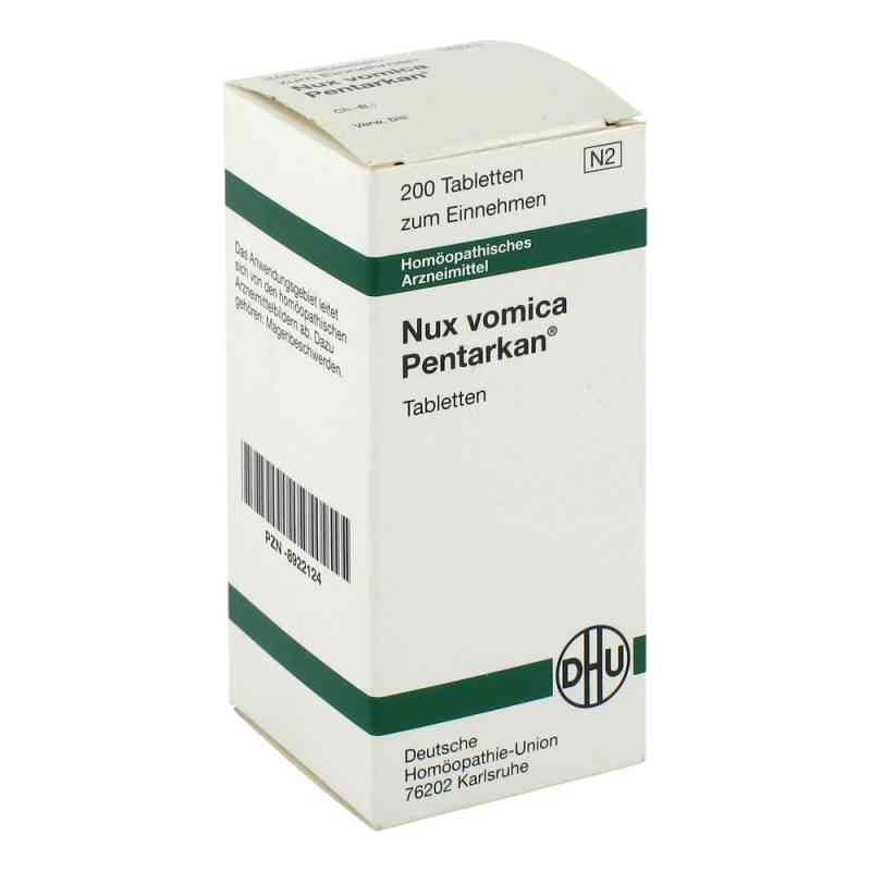 Nux Vomica Pentarkan Tabletten  bei juvalis.de bestellen