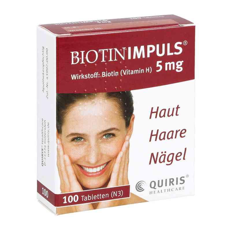 Biotin Impuls 5 mg Tabletten  bei juvalis.de bestellen
