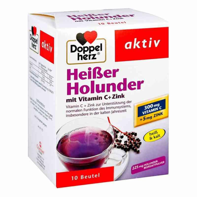 Doppelherz Heisser Holunder mit Vitamin C +Zink Granulat  bei juvalis.de bestellen