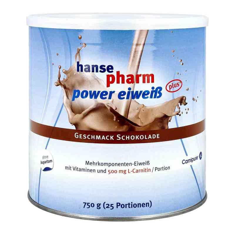 Hansepharm Power Eiweiss plus Schoko Pulver  bei juvalis.de bestellen