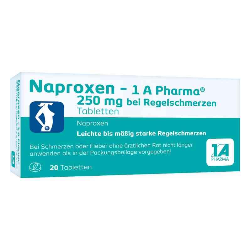 Naproxen-1A Pharma 250mg bei Regelschmerzen  bei juvalis.de bestellen