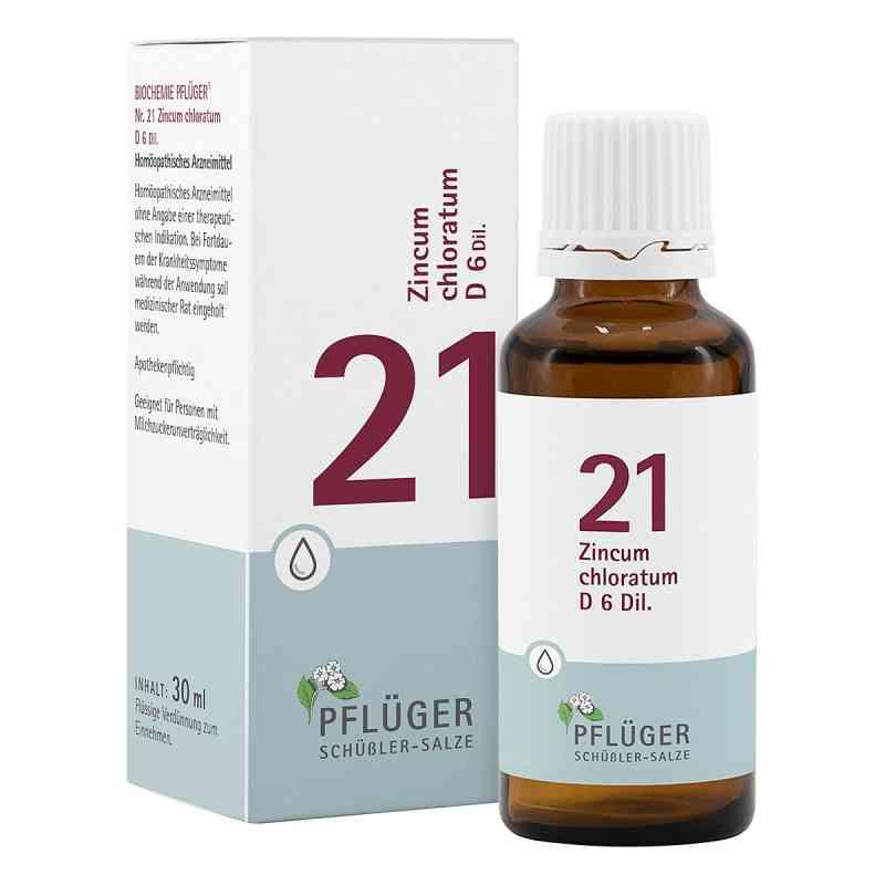 Biochemie Pflüger 21 Zincum chloratum D6 Tropfen  bei juvalis.de bestellen