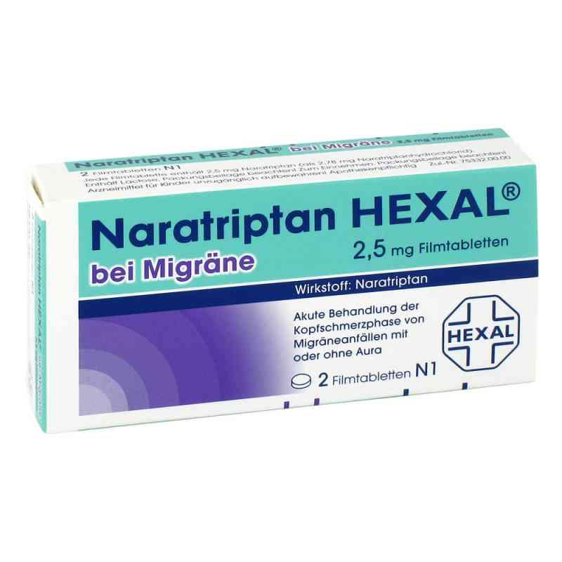 Naratriptan HEXAL bei Migräne 2,5mg  bei juvalis.de bestellen