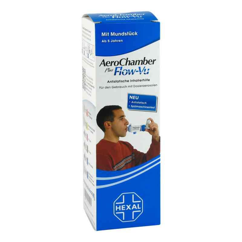 Aerochamber Hexal mit Mundstück für Erwachsenen und Kinder  bei juvalis.de bestellen