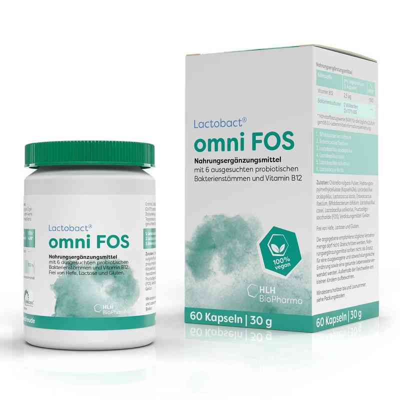 Lactobact omni Fos magensaftresistente Kapseln  bei juvalis.de bestellen