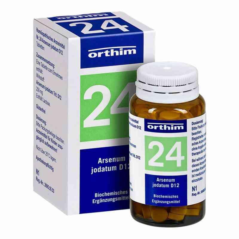 Biochemie Orthim 24 Arsenum jodatum D 12 Tabletten  bei juvalis.de bestellen