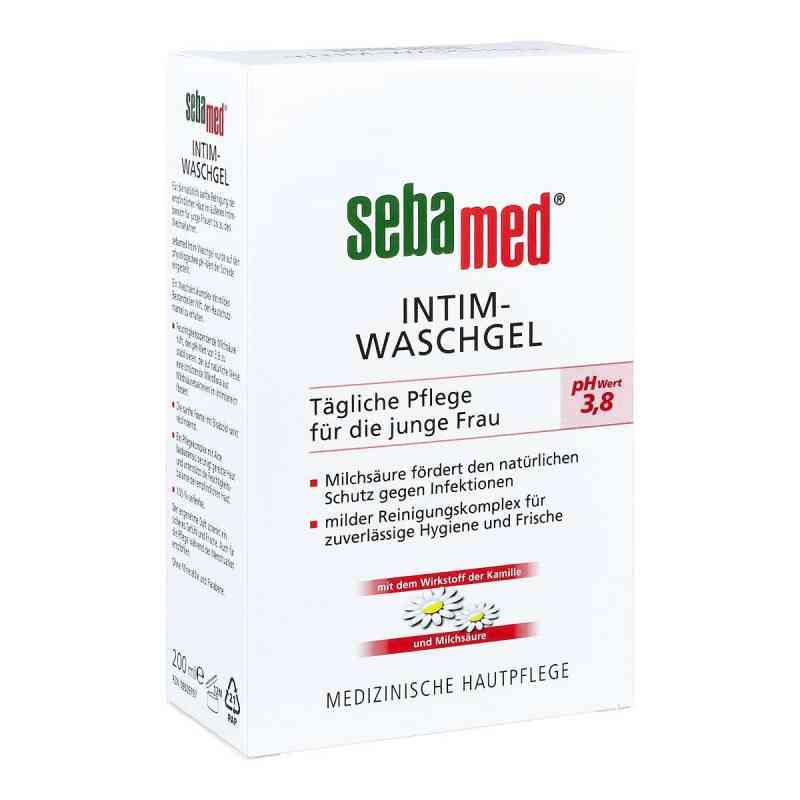 Sebamed Intim Waschgel pH 3,8 für die junge Frau  bei juvalis.de bestellen