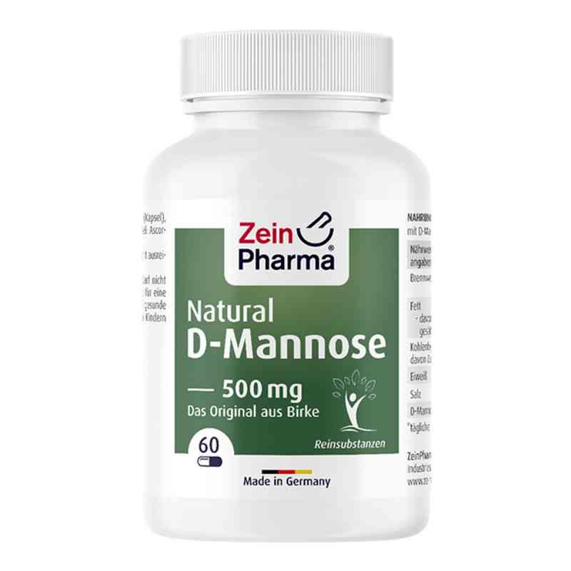 Natural D-mannose 500 mg Kapseln  bei juvalis.de bestellen