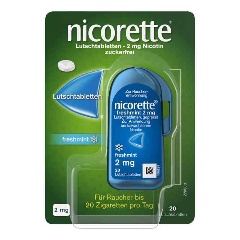 Nicorette freshmint 2 mg Lutschtabletten gepresst  bei juvalis.de bestellen