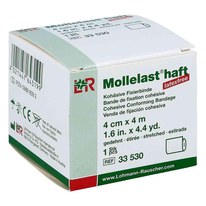 Mollelast haft latexfrei 4cmx4m gedehnt weiss  bei juvalis.de bestellen