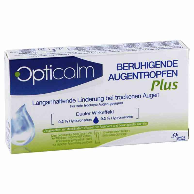 Opticalm beruhigende Augentropfen Plus in Einzeld.  bei juvalis.de bestellen