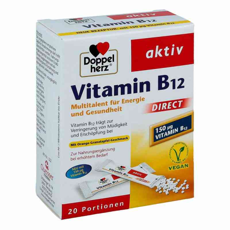 Doppelherz Vitamin B12 Direct Pellets  bei juvalis.de bestellen