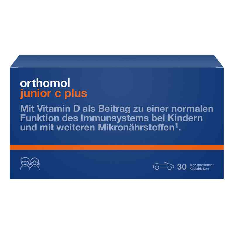 Orthomol Junior C plus Kautablette (n) mandarine/orange  bei juvalis.de bestellen