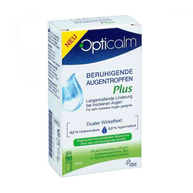 Opticalm beruhigende Augentropfen Plus  bei juvalis.de bestellen