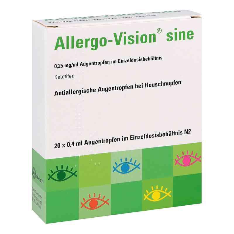 Allergo-Vision sine 0,25mg/ml Augentropfen  bei juvalis.de bestellen