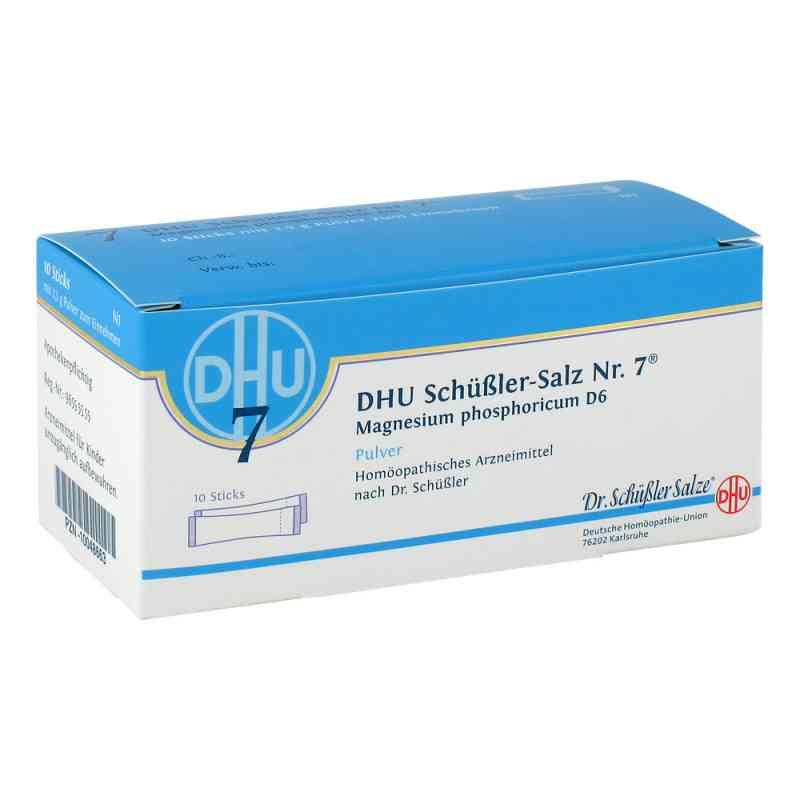 Biochemie Dhu 7 Magnesium phosphoricum D6 Sticks Pulver  bei juvalis.de bestellen