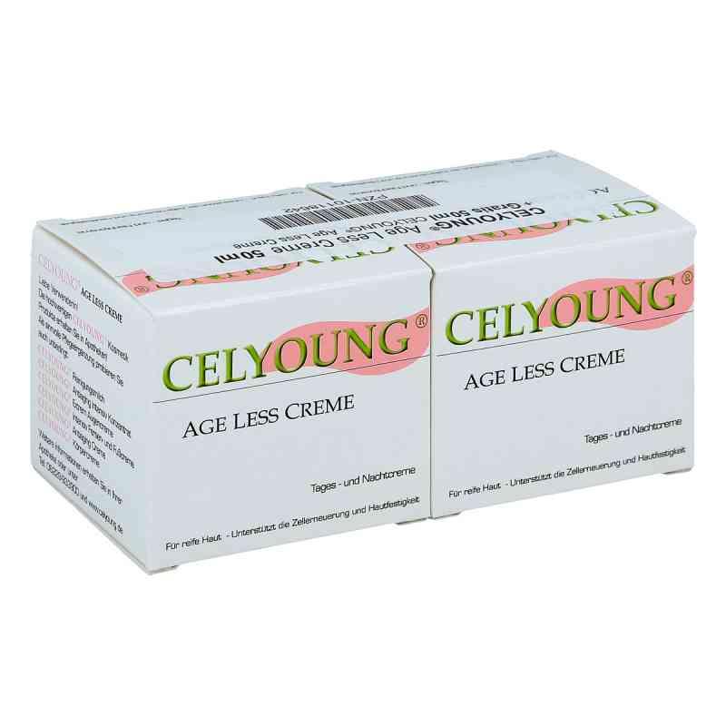 Celyoung age less Creme plus eine Gratis  bei juvalis.de bestellen