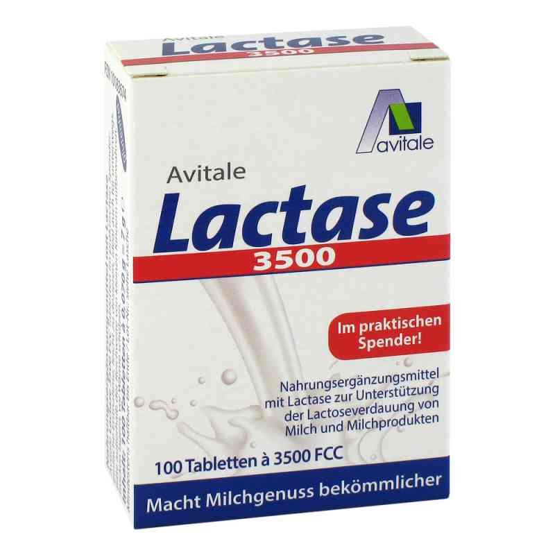 Lactase 3500 Fcc Tabletten im Klickspender  bei juvalis.de bestellen