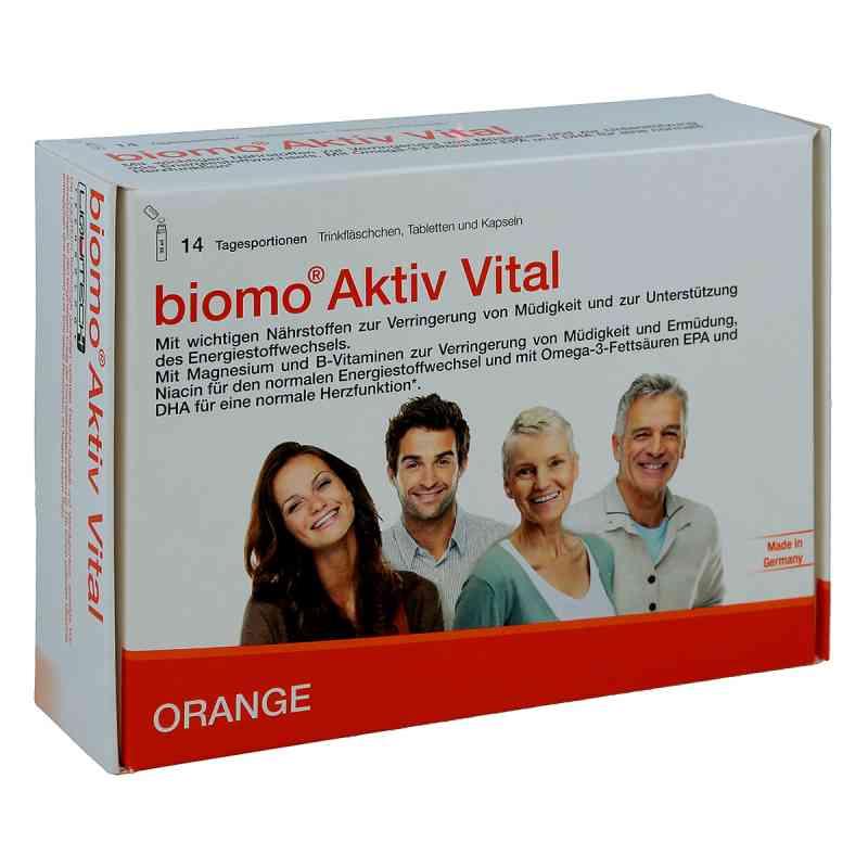 Biomo Aktiv Vital Trinkflaschen 14 Tagesportionen  bei juvalis.de bestellen