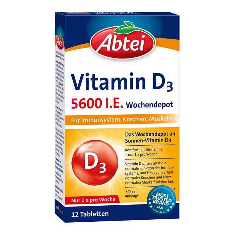 Abtei Vitamin D3 5.600 I.e. Wochendepot Tabletten  bei juvalis.de bestellen
