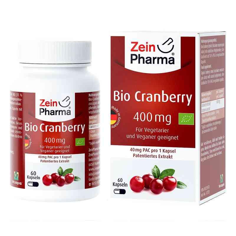 Bio Cranberry Vegi Kapseln 400 mg  bei juvalis.de bestellen