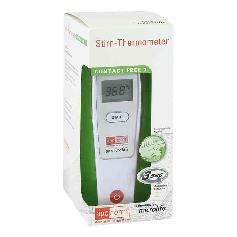 Aponorm Fieberthermometer Stirn Contact-free 3  bei juvalis.de bestellen