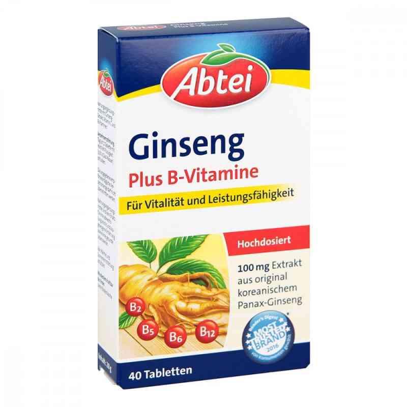 Abtei Ginseng Plus B-vitamine Tabletten  bei juvalis.de bestellen