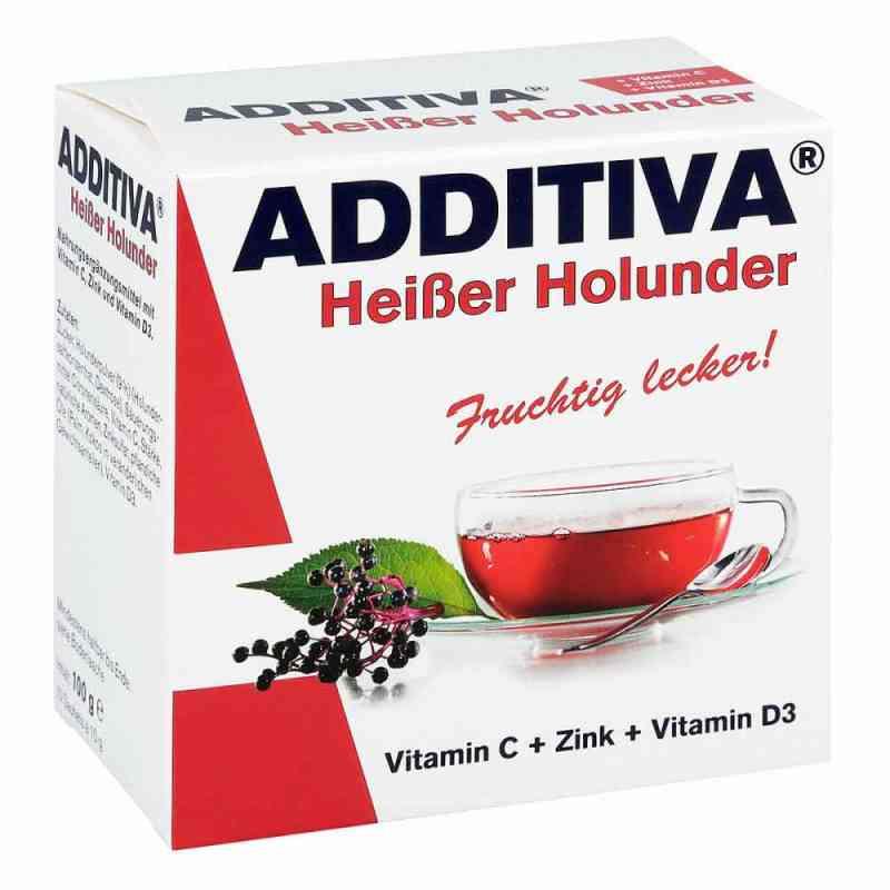Additiva Heisser Holunder Pulver  bei juvalis.de bestellen
