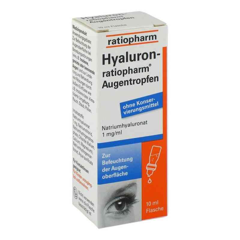 Hyaluron Ratiopharm Augentropfen  bei juvalis.de bestellen