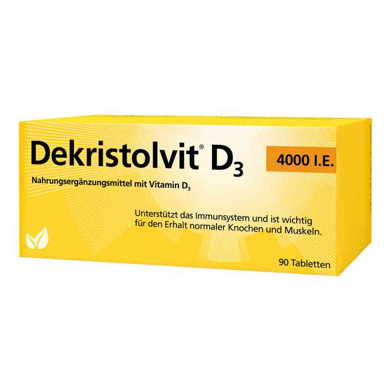 Dekristolvit D3 4.000 I.e. Tabletten  bei juvalis.de bestellen