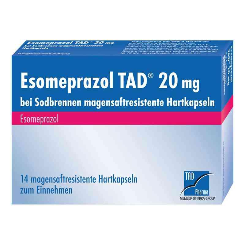 Esomeprazol TAD 20mg bei Sodbrennen  bei juvalis.de bestellen