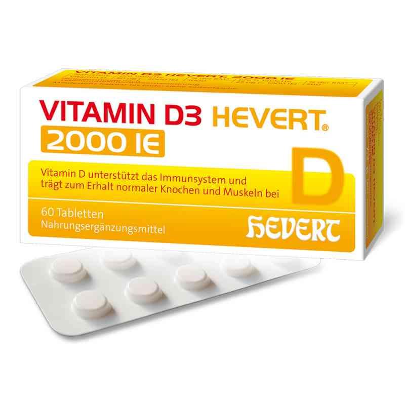 Vitamin D3 Hevert 2.000 I.e. Tabletten  bei juvalis.de bestellen