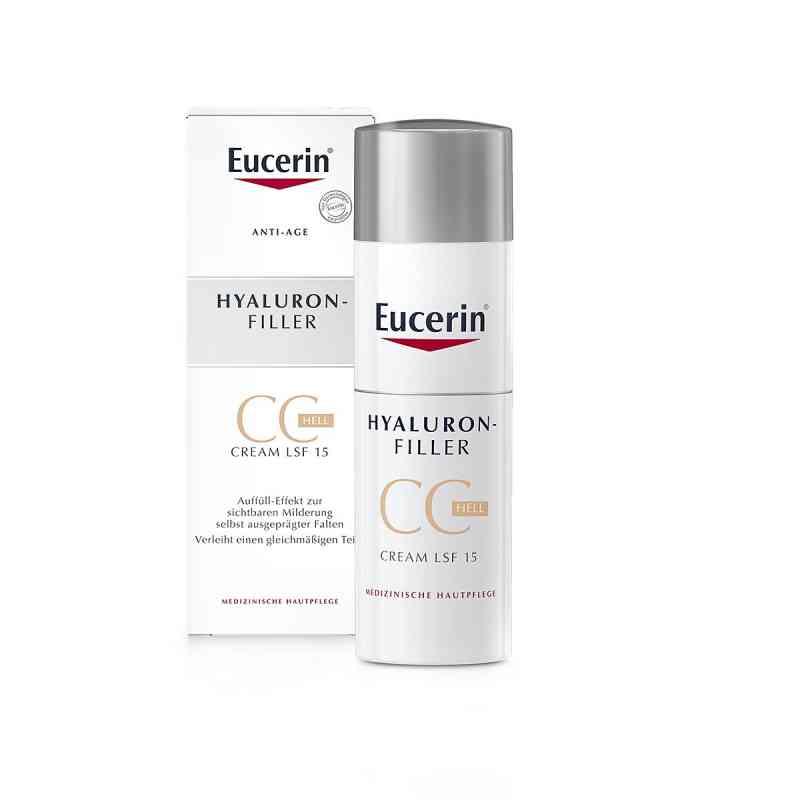 Eucerin Anti-age Hyaluron-filler Cc Cream hell  bei juvalis.de bestellen