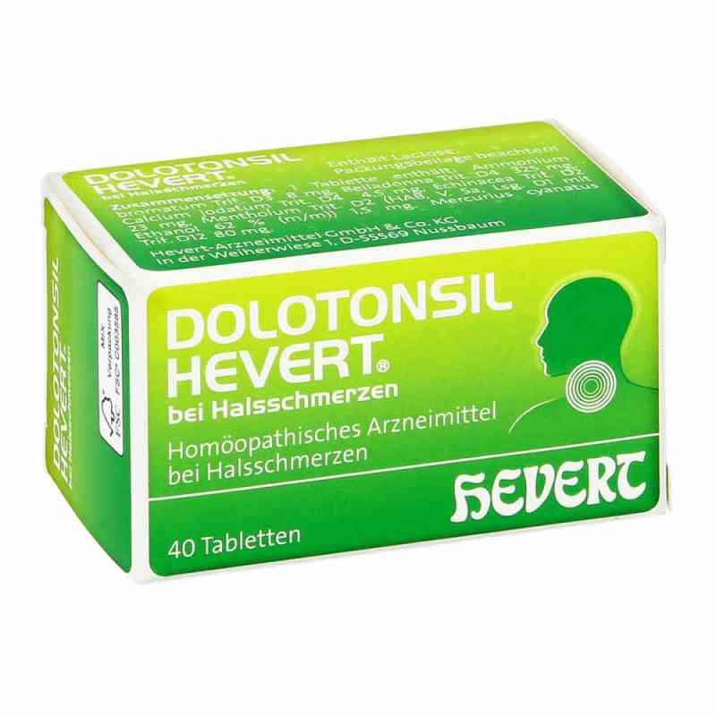 Dolotonsil Hevert bei Halsschmerzen Tabletten  bei juvalis.de bestellen