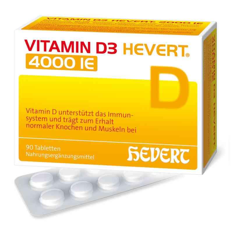 Vitamin D3 Hevert 4.000 I.e. Tabletten  bei juvalis.de bestellen