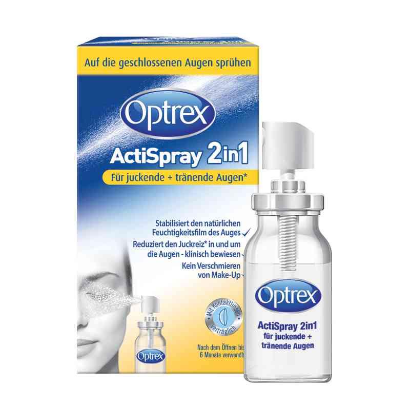 Optrex Actispray2in1 für juckende+tränende Augen  bei juvalis.de bestellen